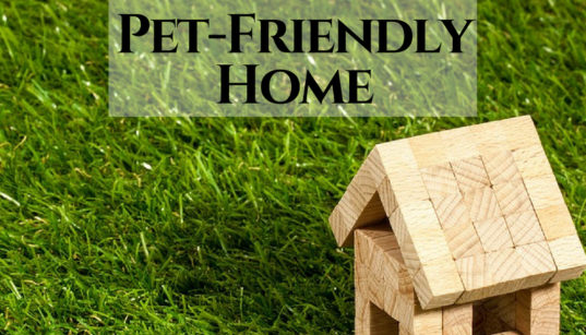 buying pet-friendly home