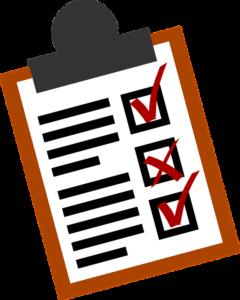 pet checklist